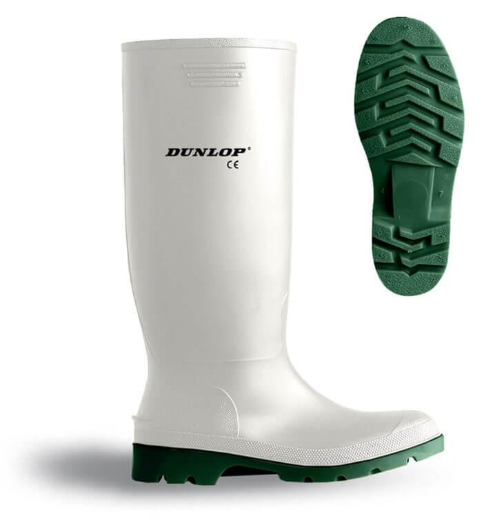 Dunlop Calzado de Protección de PVC Para Hombre Blanco Blanco ZB5fgtGci
