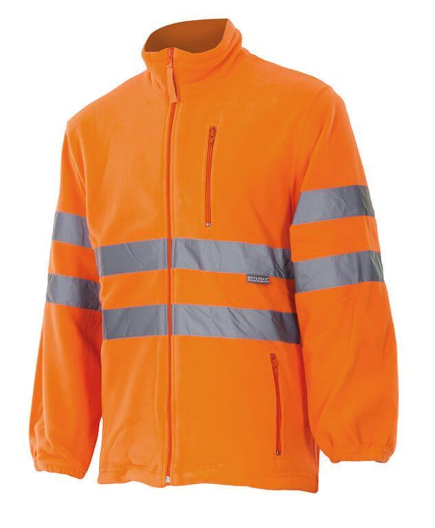 b9548c5a984 Chaqueta polar alta visibilidad Velilla 181 | Chaquetas de trabajo ...