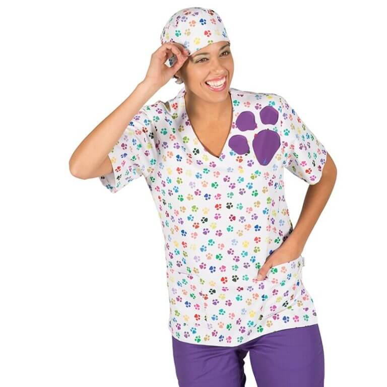 72774724c62 Casaca veterinario Gary's Huellas | Ropa de trabajo sanitaria Gary's